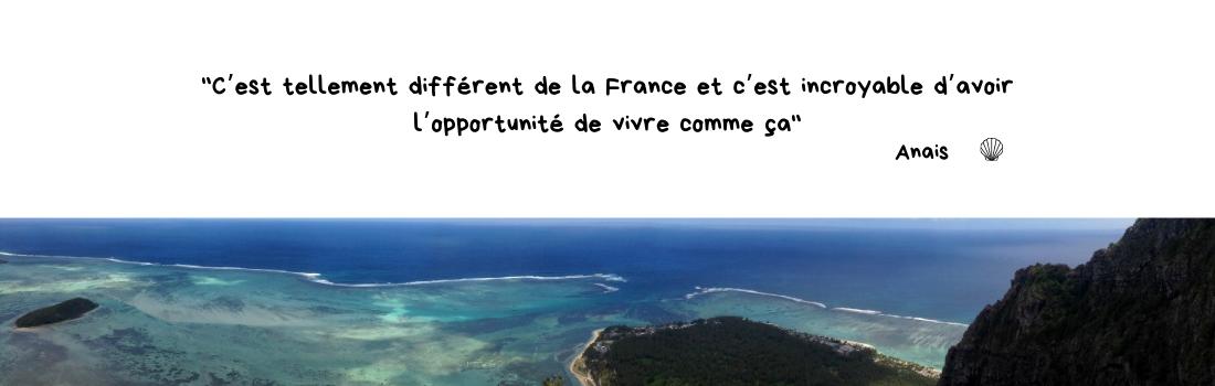 Anaïs - Avis sur l'expatriation à l'Île Maurice