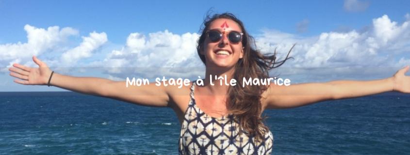 Stage à l'étranger - Elodie