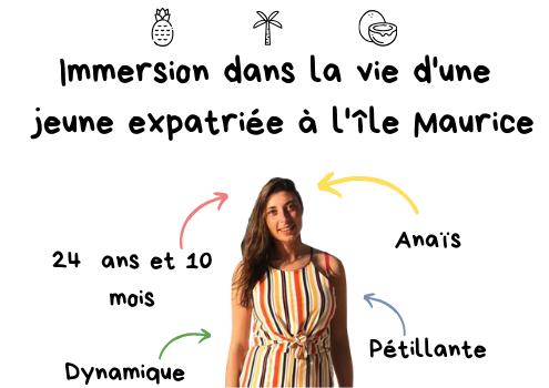 Anaïs - S'expatrier à l'Île Maurice