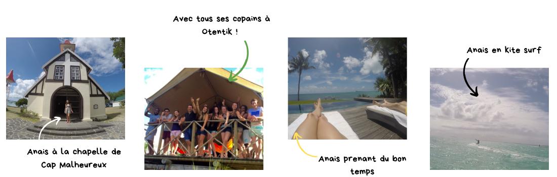Anaïs - Ses moments à l'Île Maurice