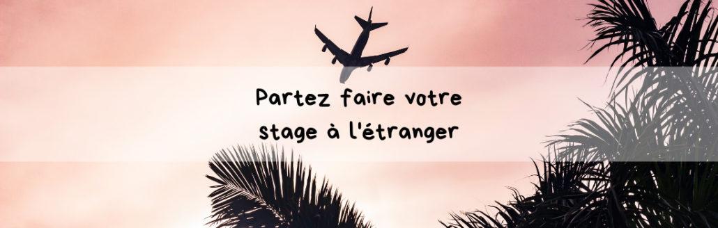 Faire un stage à l'étranger